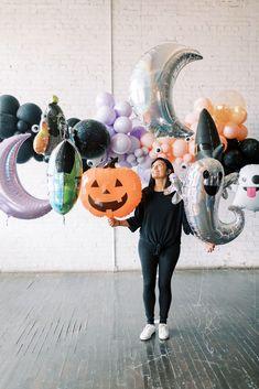 Halloween Party Supplies, Kids Party Supplies, Halloween Birthday, Halloween Party Decor, Halloween Halloween, Holidays Halloween, Diy Party, Party Ideas, Halloween Balloons
