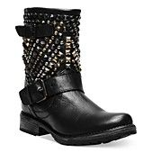 Trying to decide if I love these boots or not.    Steve Madden Women's Boots, Marcoo Studded Booties