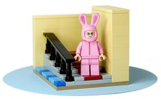 LEGO Ralphie.  Another reason to love legos.  100 custom LEGO minifigs photos