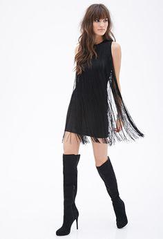 Fringed Sheath Dress | FOREVER21 - 2000136622