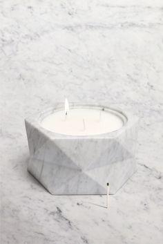 DIRIGO / Our latest project for Quintessence Paris and La Chance.  5kg of pure white marble, 25cm H x 11cm W www.notedesignstudio.se