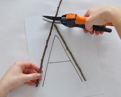 Make Your Own Stick Alphabet | Parents | Scholastic.com