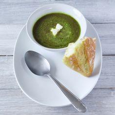 Slanke spinaziesoep: lekker op smaak, heerlijk als lunch