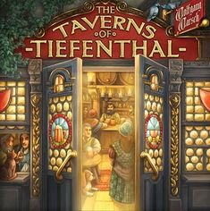 Construct and upgrade your own tavern in this beer-filled deckbuilding game. Some Cards, Deck Of Cards, Adrian Smith, German Christmas Markets, Light Games, Building Games, Strategy Games, Tabletop Games, Board Games