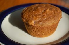 Happy Herbivore Maple Kissed Sweet Potato (or Pumpkin) Muffins