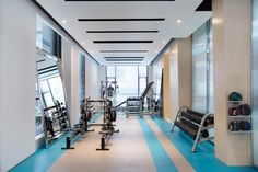 Ideas fitness interior gym modern luxury for 2019 Clinic Interior Design, Gym Interior, Modern Interior Design, Modern Interiors, Gym Design, Fitness Design, Running Photography, Prime Fitness, Ideas Scrapbook