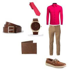 """""""Saturday"""" by richieri on Polyvore featuring Urban Pipeline, Sperry, ASOS, Levi's, Chaps, men's fashion and menswear"""