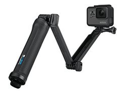 Make every shot count with the ultra-versatile GoPro grip. Working as a regular camera grip, extension arm, and tripod, this accessory ensures that you can frame every shot exactly how you want it. From GoPro. Gopro Hero 5 Black, Go Pro, Camera Deals, Gopro Accessories, Perfect Selfie, Gopro Camera, Leica Camera, Nikon Dslr, Film Camera