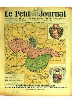 Le Petit Journal. Supplément illustré. 14 mars 1920. Coll. BDIC