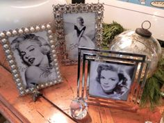 DIY 'Hollywood'-themed Tabletop Frames – Capture the stars doing what they do best –looking marvelous! – MISS PARTY