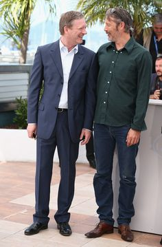 """Mads Mikkelsen Photos - Actors Douglas Henshall and Mads Mikkelsen attend """"The Salvation"""" photocall during the Annual Cannes Film Festival on May 2014 in Cannes, France. - """"The Salvation"""" Photocall - The Annual Cannes Film Festival Douglas Henshall, Hannibal Anthony Hopkins, Laurence Fox, Shaun Evans, James Norton, Blues Clues, Mads Mikkelsen, British Actors, Cannes Film Festival"""