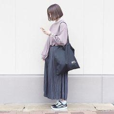 shizuku |w closetのその他トップスを使ったコーディネート - WEAR Ulzzang Fashion, Hijab Fashion, Fashion Outfits, Fashion Trends, Casual Hijab Outfit, Casual Outfits, Cute Outfits, Summer Outfits, Korean Street Fashion