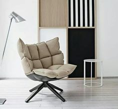 """THE INTERNATIONAL JURY OF THE TWENTY-THIRD AWARD COMPASSO D'ORO ADI CONFERRED, ON MAY 28TH, THE HONORABLE MENTION TO THE HUSK ARMCHAIR BY PATRICIA URQUIOLA FOR B&B ITALIA.   HUSK BECOMES PART OF THE COLLECTION COMPASSO D'ORO ADI, DECLARED IN 2004 TO BE """"OF EXCEPTIONAL ARTISTIC AND HISTORICAL INTEREST"""""""