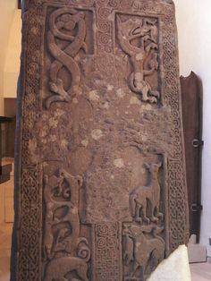 Woodrae Pictish Slab - Ancient Scotland