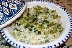 Petiscana: Arroz de grelos de couve [Edible kale flower bud rice]