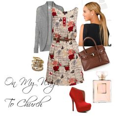 Church Clothes by andreadennis on Polyvore