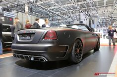 The new Rolls-Royce Dawn by Mansory with our live photos from Geneva Motor Show Get our full Geneva 2017 coverage here. Rolls Royce Dawn, Future Car, Geneva, Exotic Cars, Supercars, Luxury Cars, Vintage Cars, Classic Cars, Beautiful