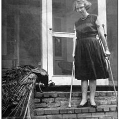 """SoundCloud Mobile - Flannery O'Connor reading from A Good Man is hard to Find"""", 1959 via openculture.com"""