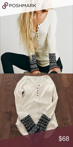 Free People Alpine Cuff Thermal NWOT Free People Alpine Cuff Thermal NWOT new never worn. Size xs. Sold out!! Free People Tops Tees - Long Sleeve