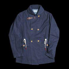 Shawl collar overcoat $234