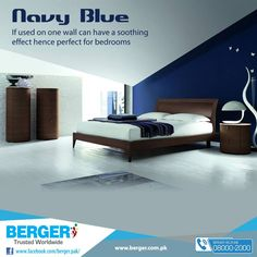 #Berger #BergerPaintPakistan #BergerPaint #Color #Paint #Decor #ColorShades #DIY #NavyBlue #Homedecor