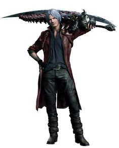 Dante Devil May Cry 5 by Nomada-Warrior on DeviantArt Game Character Design, Character Art, Nero Dmc, Famous Warriors, Dante Devil May Cry, Dmc 5, Fantasy Male, Fantasy Girl, Batman Vs Superman