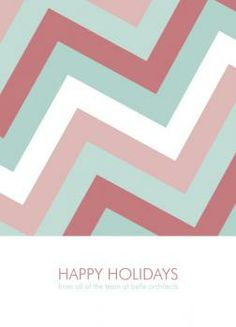Christmas Zig Zag by Kampai Designs for Minted.