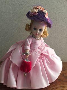"Vintage Madame Alexander Kins 1956 ""SOUTHERN BELLE"" in Pink and All Original!"