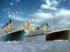 rms titanic olympic britannic - Google Search