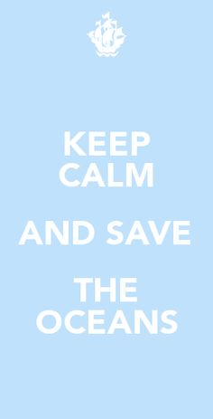 save the oceans!