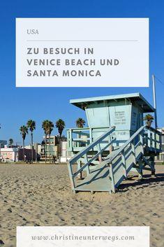 Anfang- und Endpunkt unserer Reise durch den Südwesten der USA war Los Angeles. Da wir aber nicht mittendrin übernachten wollten, sondern lieber an den berühmten Stränden, entschieden wir uns für Aufenthalte in Venice und Santa Monica. Was es dort zu sehen gibt, verrate ich euch hier. Great Buildings And Structures, Modern Buildings, Santa Monica, Venice Beach, Reisen In Die Usa, Dubai Skyscraper, San Salvador, Geodesic Dome, Koh Tao