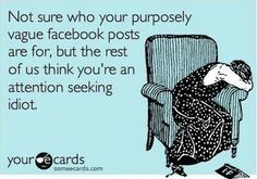 Or any social network. You always did let them get the best of you.