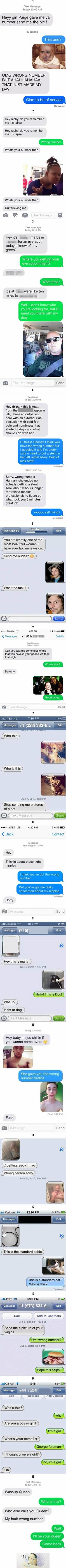 10+ Wrong Number Texts That Have The Best Replies