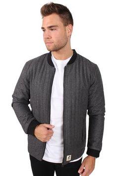 Fat Moose Lumber Wool Jakke Dark Grey