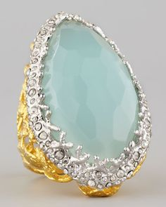 Alexis Bittar Siyabona Peruvian Chalcedony Ring