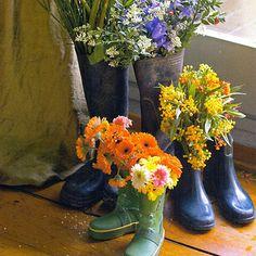Botitas florales