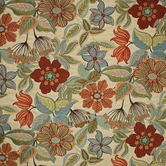 Magnolia Fabrics Dhue Carnival for Fireplace Pillows