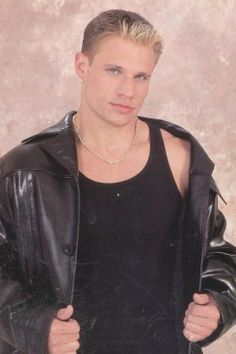 dreamy. i loved him | Nick Lachey Comes Face-To-Face With His Frightening Old Boy Band Photos