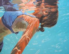"Saatchi Art Artist Samantha French; Painting, ""Slow Breathing"" #art"