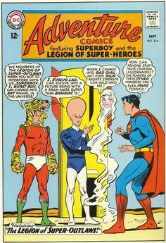 Adventure Comics Legion of Super Heroes 324