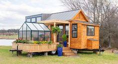 Schön Das Tiny House The Elsa Hat Einen Mobilen Garten Tiny Houses Büßen Noch  Immer Nichts Von Ihrer Faszination Ein. Vor Allem Wenn Sie Rollen Haben, ...