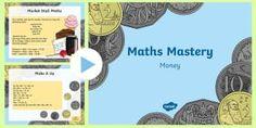 Year 3 Money PowerPoint - Year 3, maths, mathematics, numeracy, maths mastery, money, addition, add, sum, subtraction, takeawa