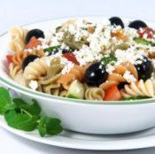 Italian Pasta Salad  This recipe reminds me of spring. Very cool and fresh tasting!