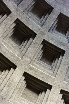 (detail), Rome, Italy 400 b. Classical Architecture, Ancient Architecture, Architecture Details, Interior Architecture, Building Architecture, Gothic Architecture, Tile Patterns, Textures Patterns, Rome Pantheon