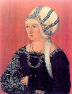 1500 German School (Swabian) Barbara Wespach It's About Time: 16C Fashion - European Women in Winter White Headwear