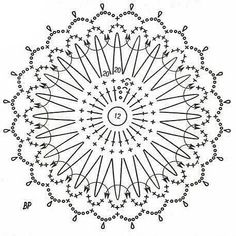 Best 12 U Kathryn : Szydełkowe bombki-wzory/Crochet baubles-patterns – SkillOfKing.Com – SkillOfKing. Crochet Chart, Crochet Motif, Crochet Doilies, Crochet Stitches, Knit Crochet, Crochet Patterns, Crochet Snowflake Pattern, Crochet Snowflakes, Christmas Snowflakes