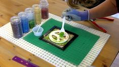 Fused Glass Peace Sign Plaque