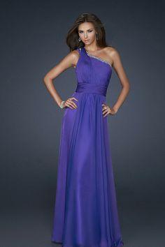 c2335a8508c66 Shop 2012 Collection Blue One Shoulder Sheath Column Prom Dresses Under 200  Online affordable for each occasion