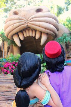 Aladdin and Jasmin Walt Disney, Disney Magic, Disney Art, Disney Pixar, Disney Fairies, Merida Disney, Disney Fantasy, Disney And More, Disney Love