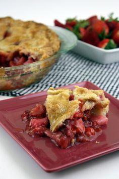 Strawberry-Rhubarb Pie | The Kitchen Paper